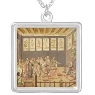 The Conquest of Mexico Silver Plated Necklace