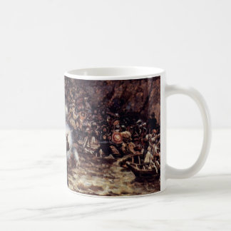 The Conquest Of Siberia By Yermak By Surikow Wassi Coffee Mug