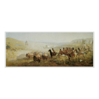 The Conquest of the Prairie Print