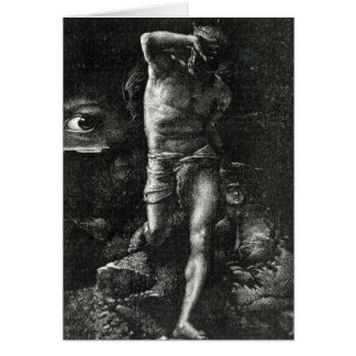The Conscience or, The Eye Watching Cain Card
