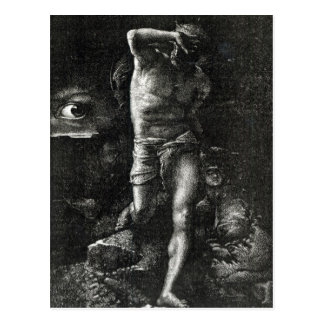 The Conscience or, The Eye Watching Cain Postcard