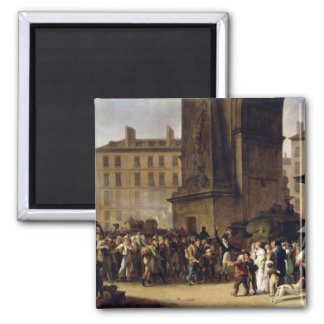 The Conscripts of 1807 2 Inch Square Magnet