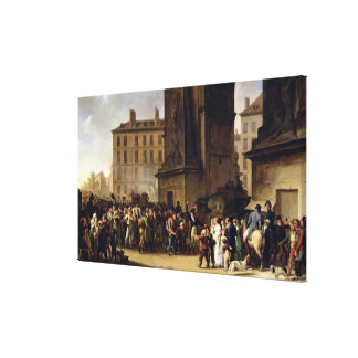 The Conscripts of 1807 Canvas Print