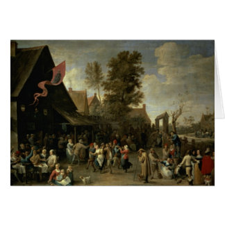The Consecration of a Village Church, c.1650 Greeting Cards