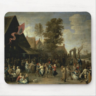 The Consecration of a Village Church, c.1650 Mouse Pad