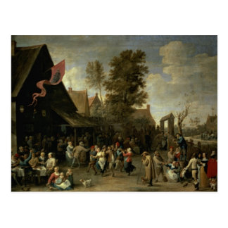 The Consecration of a Village Church, c.1650 Postcard