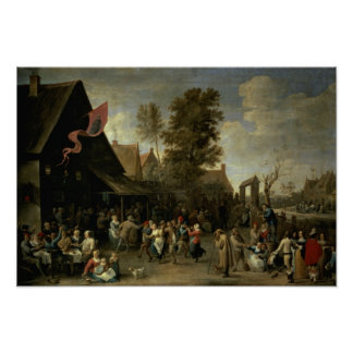 The Consecration of a Village Church, c.1650 Posters
