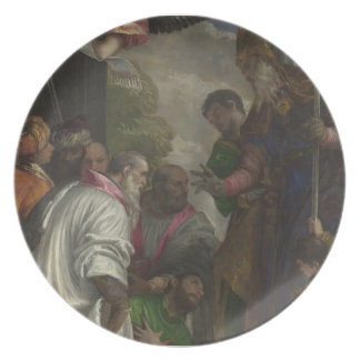 The Consecration of St Nicholas by Paolo Veronese Dinner Plate