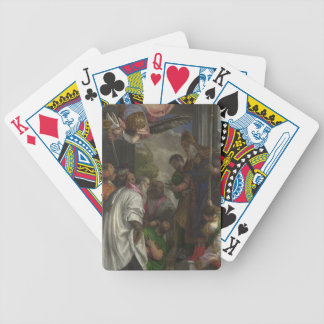The Consecration of St Nicholas by Paolo Veronese Card Decks