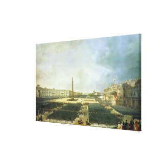 The Consecration of the Alexander Column Canvas Print