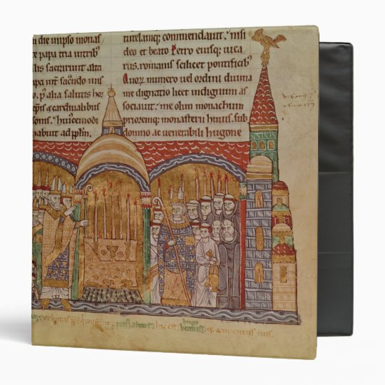 The Consecration of the Church at Cluny 3 Ring Binder