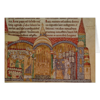 The Consecration of the Church at Cluny Card