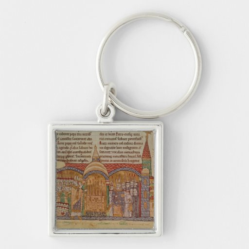 The Consecration of the Church at Cluny Keychains