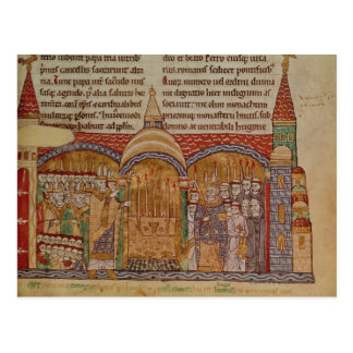The Consecration of the Church at Cluny Postcards