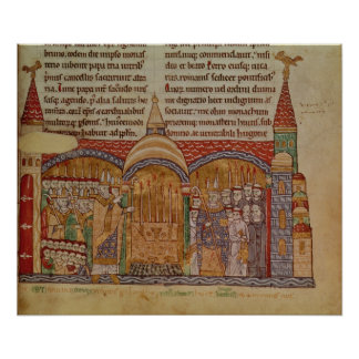 The Consecration of the Church at Cluny Poster