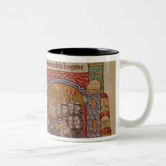 The Consecration of the Church at Cluny Two-Tone Coffee Mug