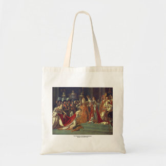 The Consecration of the Emperor Napoleon 1 Budget Tote Bag