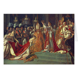The Consecration of the Emperor Napoleon 1 Card