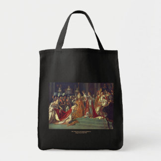 The Consecration of the Emperor Napoleon 1 Grocery Tote Bag