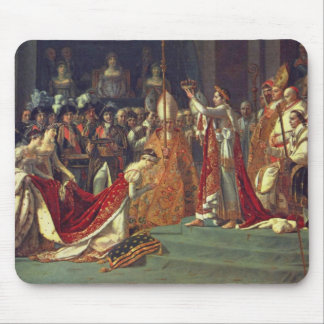 The Consecration of the Emperor Napoleon 1 Mouse Pad