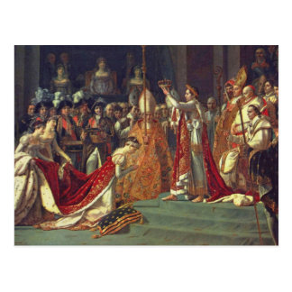 The Consecration of the Emperor Napoleon 1 Postcard