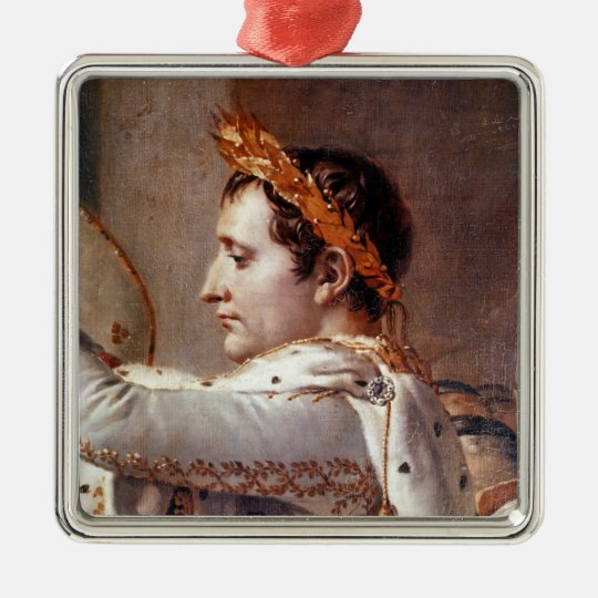The Consecration of the Emperor Napoleon 2 Metal Ornament