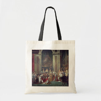 The Consecration of the Emperor Napoleon Budget Tote Bag