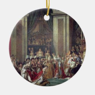 The Consecration of the Emperor Napoleon Ceramic Ornament