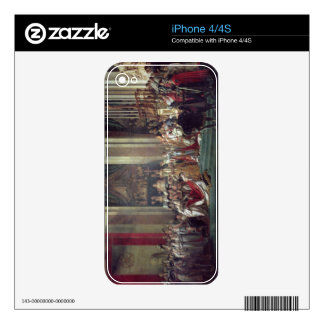 The Consecration of the Emperor Napoleon iPhone 4S Skins