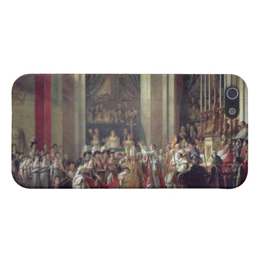 The Consecration of the Emperor Napoleon iPhone SE/5/5s Cover
