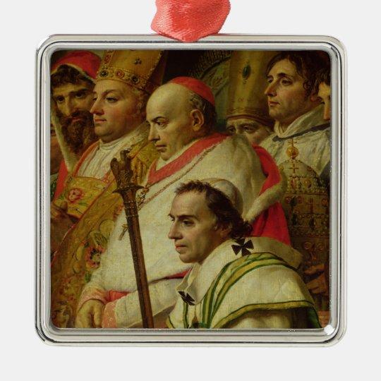The Consecration of the Emperor Napoleon Metal Ornament