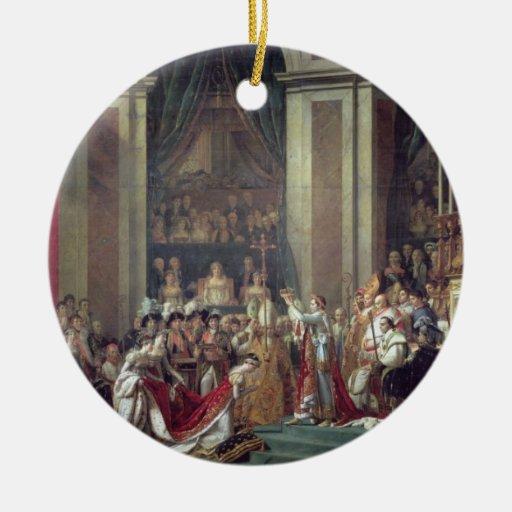 The Consecration of the Emperor Napoleon Ornament