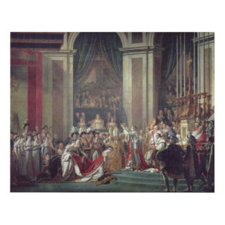 The Consecration of the Emperor Napoleon Panel Wall Art