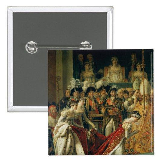 The Consecration of the Emperor Napoleon Pinback Button