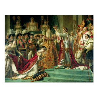 The Consecration of the Emperor Napoleon Postcard