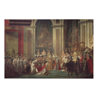 The Consecration of the Emperor Napoleon Wood Wall Decor