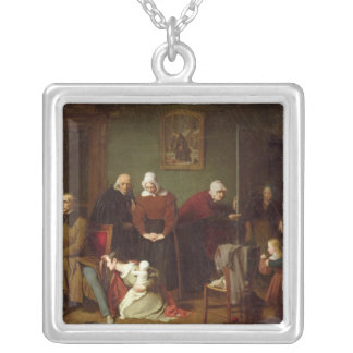 The Consequences of the Seduction, 1824 Silver Plated Necklace