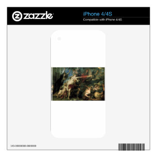 The Consequences of War by Peter Paul Rubens Decal For The iPhone 4