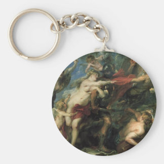 The Consequences of War by Peter Paul Rubens Keychain