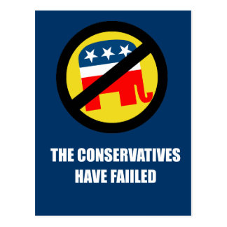 The Conservatives have failed Postcard