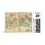 The Constellations in October-March Postage Stamp