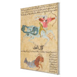 The Constellations of Sagittarius and Canvas Print