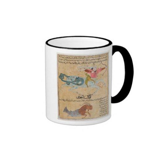 The Constellations of Sagittarius and Ringer Coffee Mug