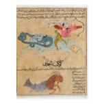 The Constellations of Sagittarius and Postcard