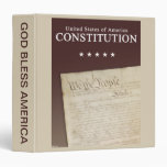 The Constitution 3 Ring Binder