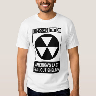 The Constitution - America's Last Fallout Shelter Shirt