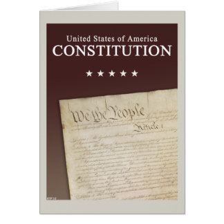 The Constitution Card