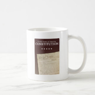 The Constitution Classic White Coffee Mug