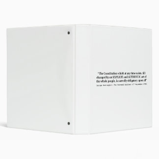 The Constitution is Sacredly Obligatory Upon All Binder