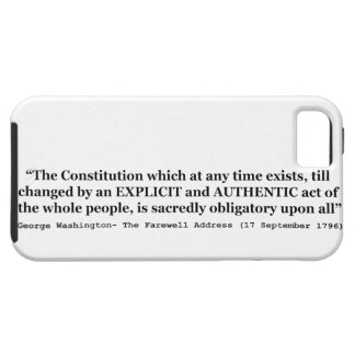 The Constitution is Sacredly Obligatory Upon All iPhone SE/5/5s Case